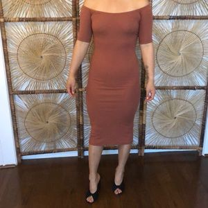 BRAND NEW ASOS, sexy fitted midi dress